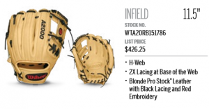 Best Looking Baseball Glove